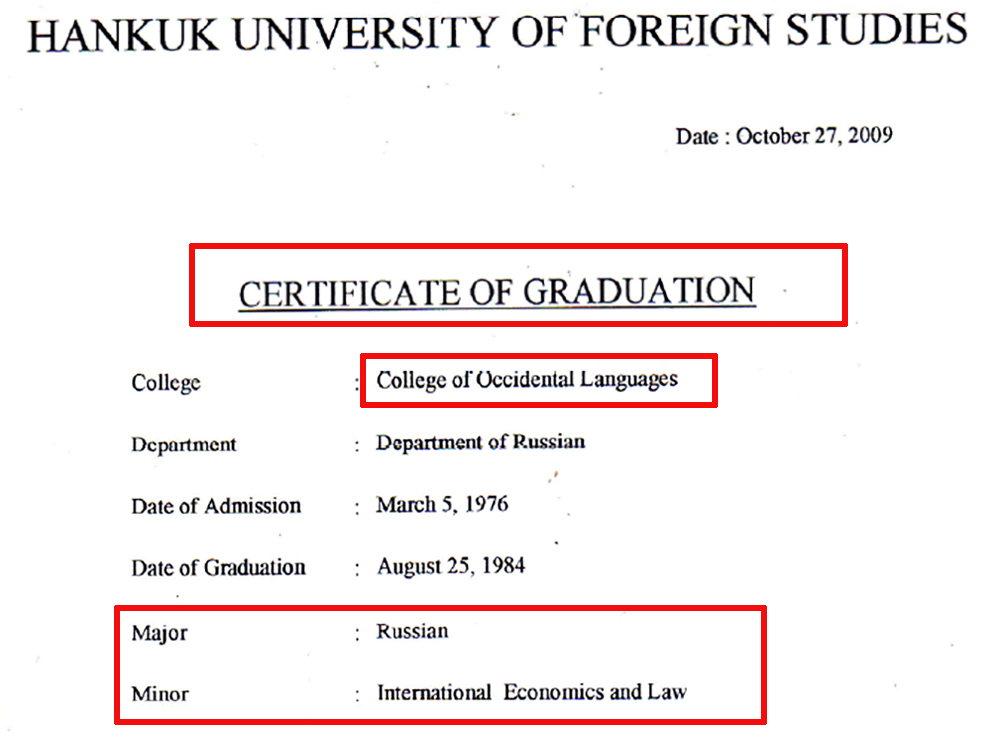College of Occidental Languages (đại học ngoại ngữ Hankuk) là gì