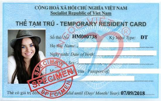 công văn giải trình việc xin cấp đổi thẻ tạm trú