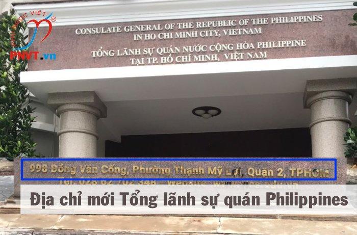 Tổng lãnh sự quán Philippines tại TPHCM dời về Quận 2