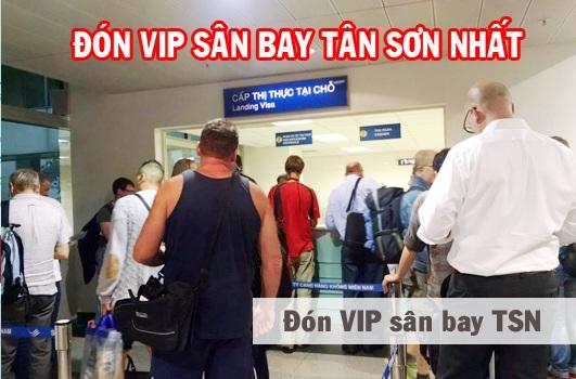 dịch vụ đón khách tại sân bay tân sơn nhất