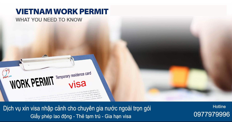 hồ sơ đề nghị xin cấp thẻ tạm trú cho chuyên gia nước ngoài
