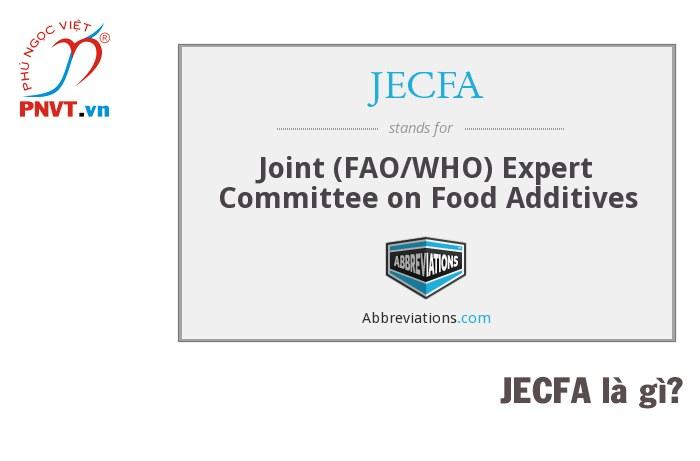 JECFA là gì