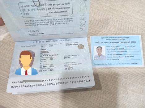 mẫu đơn trình báo mất thẻ tạm trú