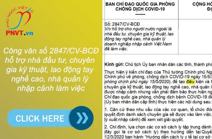 người nước ngoài vào Việt Nam làm việc xin nhập cảnh như thế nào