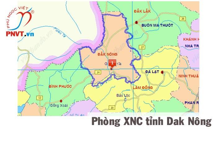 Phòng quản lý xuất nhập cảnh công an tỉnh Đắk Nông