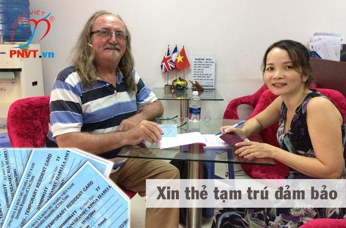 thẻ tạm trú cho người nước ngoài tại việt nam