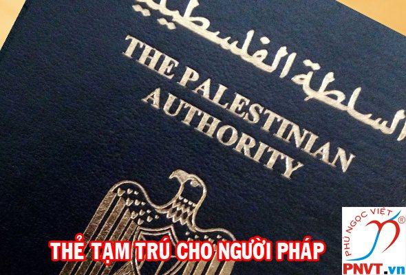 Thẻ tạm trú cho người Palestine