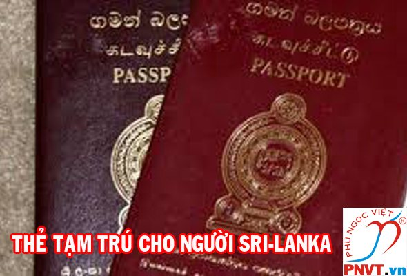 Thẻ tạm trú cho người Sri Lanka