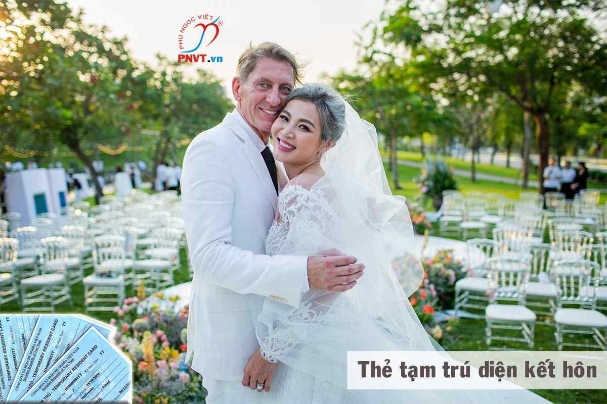 thẻ tạm trú diện kết hôn