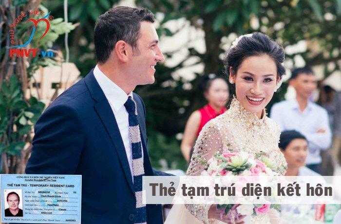 thẻ tạm trú kết hôn