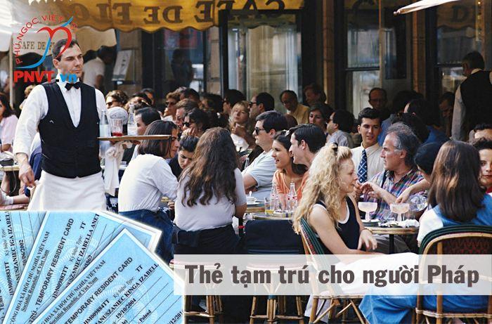 Thủ tục xin cấp thẻ tạm trú cho người Pháp ở TPHCM