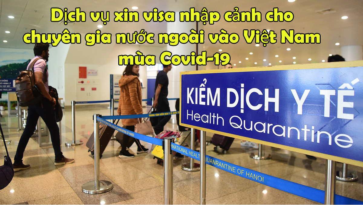 thủ tục xin công văn nhập cảnh Việt Nam