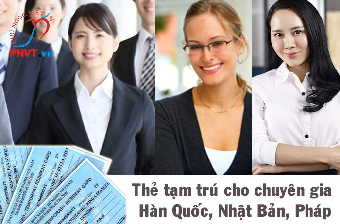 Xin cấp thẻ tạm trú cho chuyên gia Hàn Quốc, Nhật Bản, Pháp tại khu công nghệ cao TPHCM