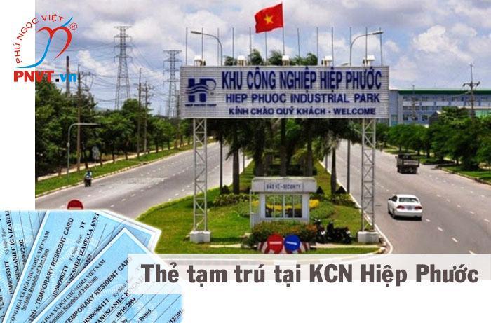 Xin cấp thẻ tạm trú cho người Nhật Bản tại khu công nghiệp Hiệp Phước TPHCM