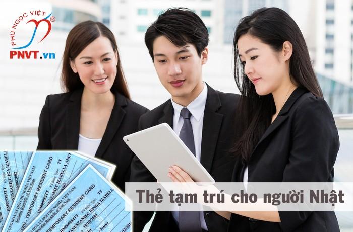 Xin cấp thẻ tạm trú cho người Nhật tại Việt Nam